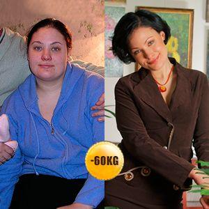 Ιστορία απώλειας βάρους -60 kg | Περιοδικό Απώλειας Βάρους