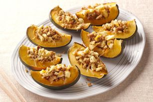Use your microwave for a speedy, tender squash side dish.