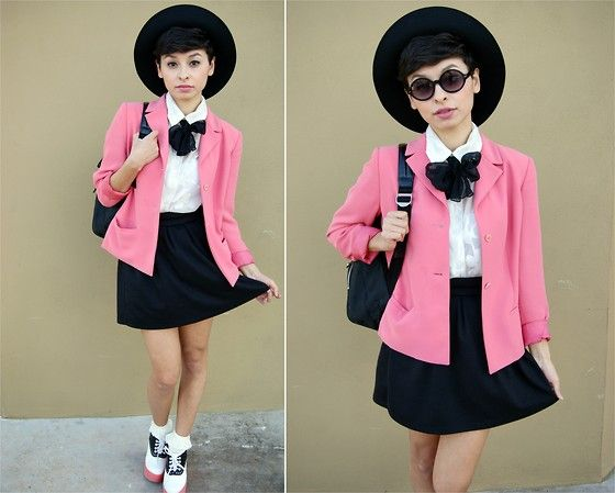 Pink Baby (by Renee Rivas) http://lookbook.nu/look/4577489-Pink-Baby