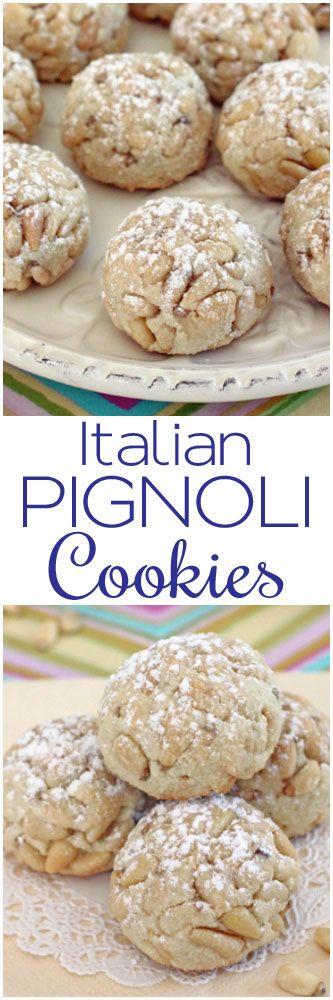 Italian Pignoli Cookies #glutenfree