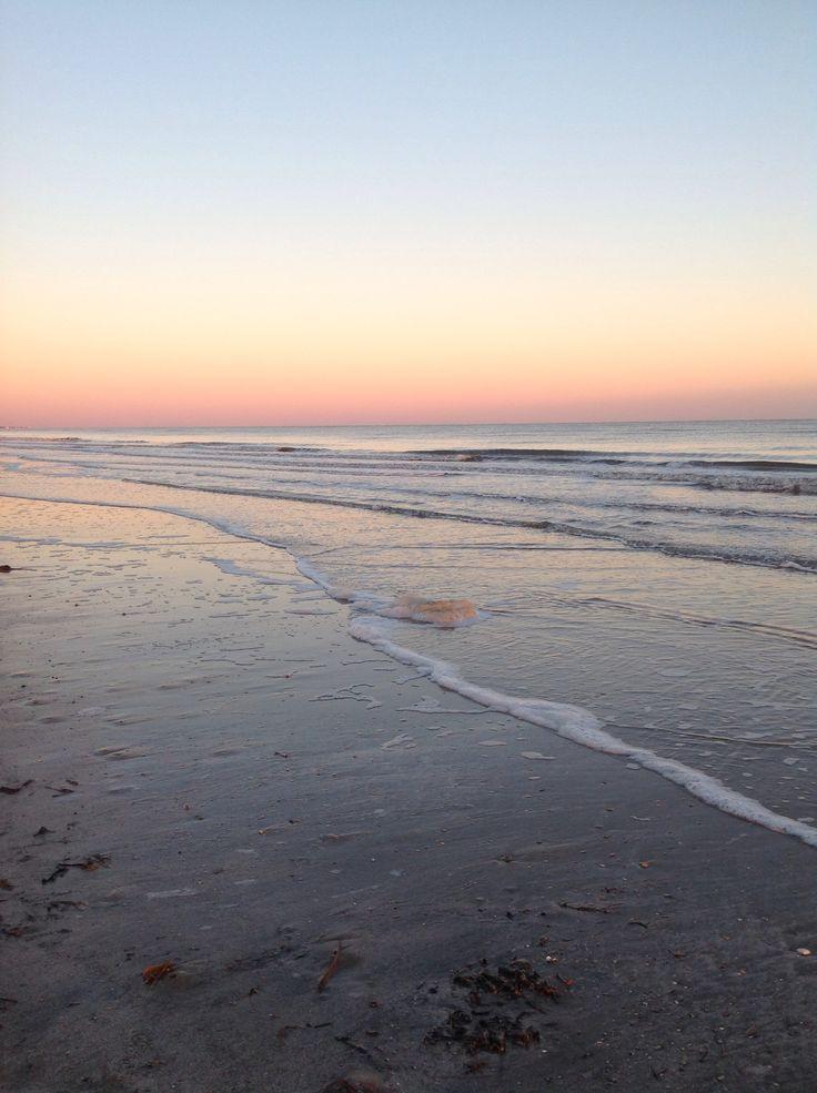 Crystal Beach, Texas sunset