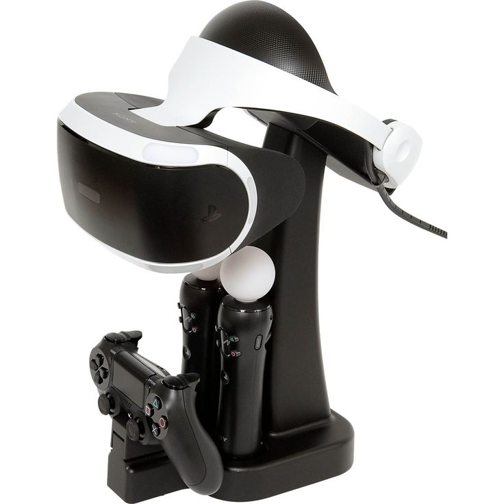 PS4 Psvr Headset and Controller Charging Display