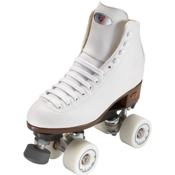 Riedell Angel Artistic Roller Skates - White ($129) ❤ liked on Polyvore featuring shoes and skates