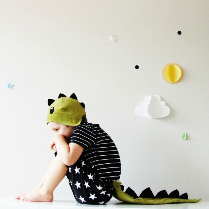 Dress up clothes for kids: a ferociously cute dinosaur costume that's so easy to wear