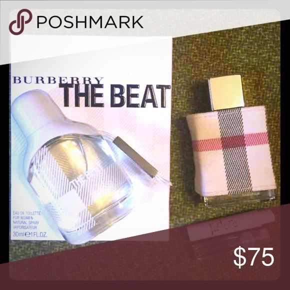 Burberry Beat and Burberry London Perfume $150 value. Authentic (duh). Both barely used. This Burberry London is veryyy expensive and hard to find. Selling two for less than the price of one! Burberry Other
