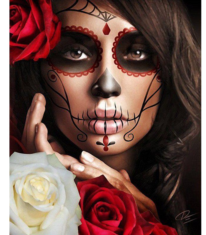 Best 25+ Halloween skeleton makeup ideas on Pinterest | Skeleton ...