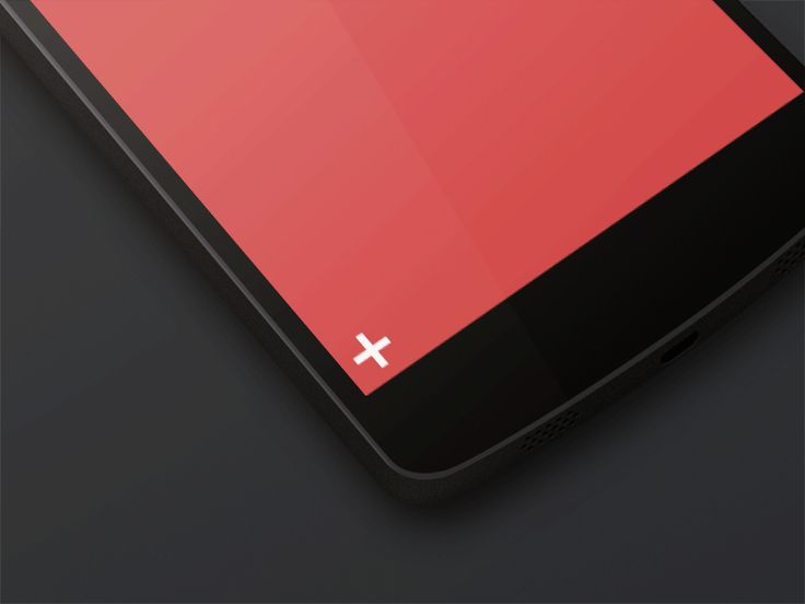 Nexus 5 Menu Animated #Gif by Alexandru Stoica | Motion graphics in user interface design #UI