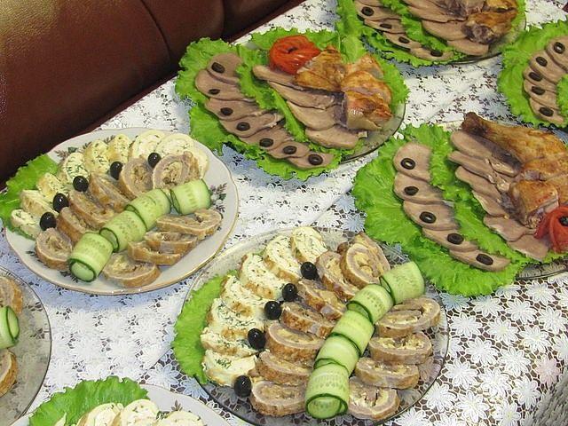 Masă de vacanță! Idei pentru decorarea feluri de mâncare!
