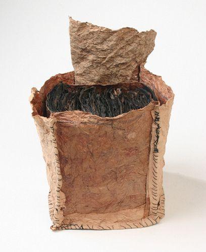"Joanne B. Kaar .. ""seafarer's log book"": Logs Books, Books Art, Artists Books, Cute Pet, Altered Books, Books Incunabulum, Books Binding, Seafar Logs, Seafarer Logs"