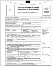 formulario para la visa americana