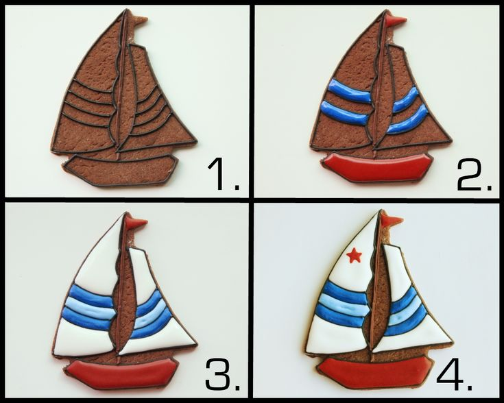 Sailboat_and_Yacht_Cookie Piping Tutorial