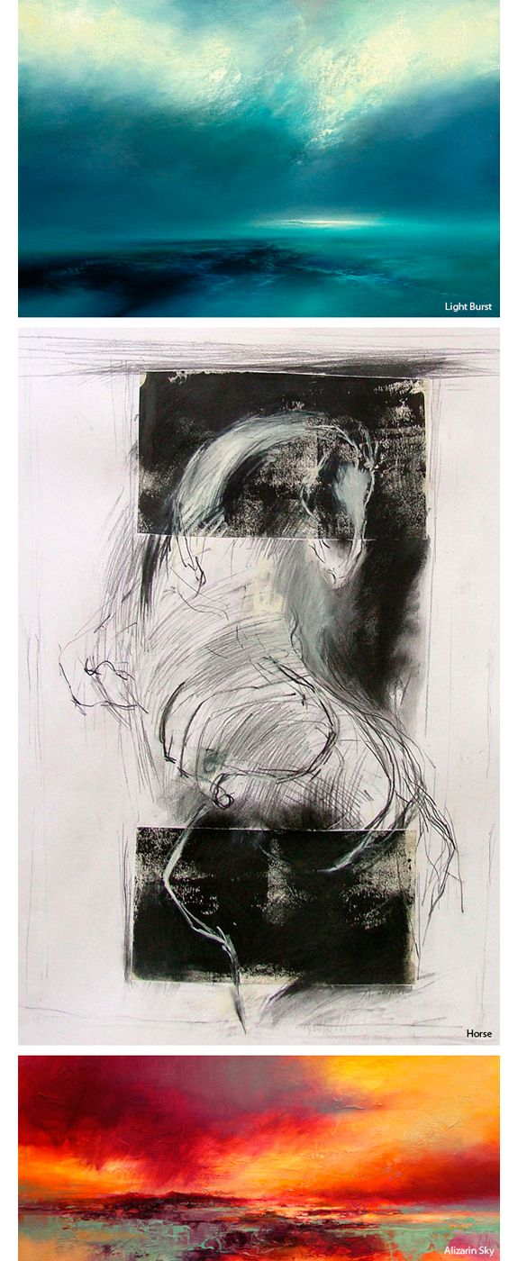 "ABERDEENSHIRE: Airt Gallery. ""Landscapes of the Mind"" Scottish Artist Kirstie Cohen Solo Exhibition. 6 Oct - 14 Nov"