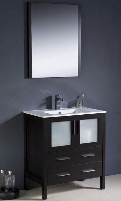 "Bello 30"" Bathroom Vanity - York Taps"