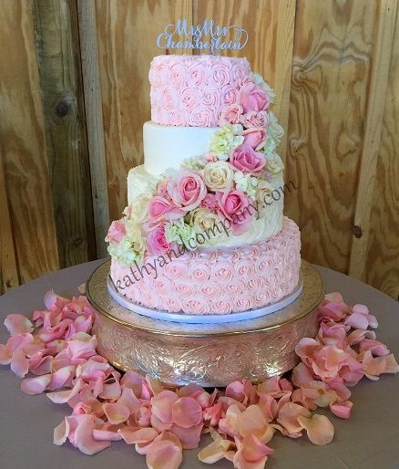 fresh flower wedding cake ideas 25 best ideas about rosette wedding cakes on 14489
