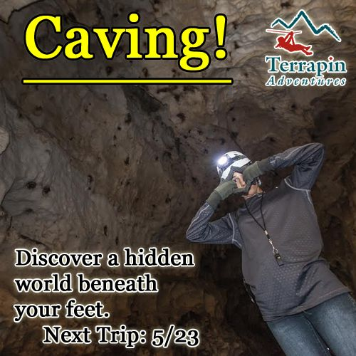 Whether you call it caving, spelunking, or potholing you will experience the adventure of a lifetime. Our knowledgeable guides will introduce you to the basics of cave exploration, safety, and stewardship.   Call 301-725-1313  #Caving #Spelunking