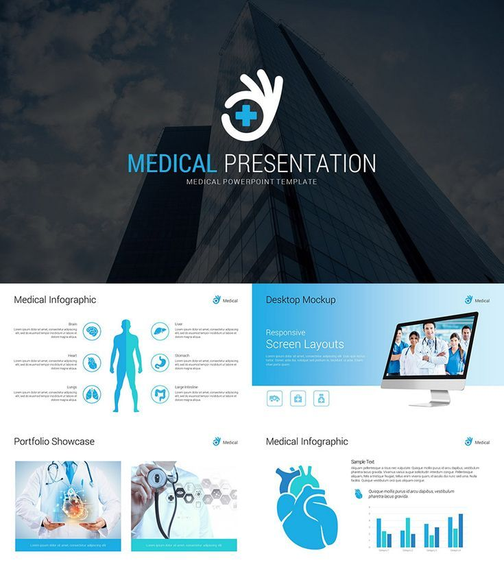Medical Infographic Business Powerpoint Template