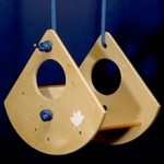 """The Little Bird Swing    The original """"little bird"""" swing was created by Portland architect Christopher Campbell for his two year old niece. It was a big hit, so he began to gift it to his client's children"""