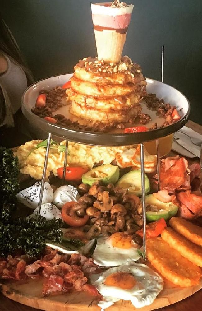 Platform Eighty Two cafe: Epic breakfast tower wins the hearts of Sydneysiders | Perth Now