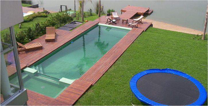 Construccion de piletas de natacion y piscinas perpool for Ideas para albercas