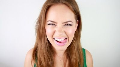 Tanya Burr. Sweetest person alive, and so talented. And pretty. And funny. She's just amazing!