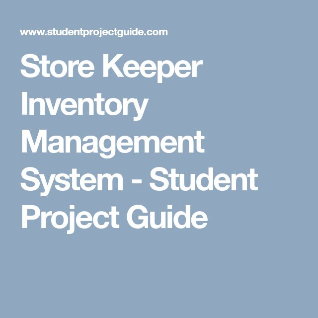 Store Keeper Inventory Management System | Inventory ...