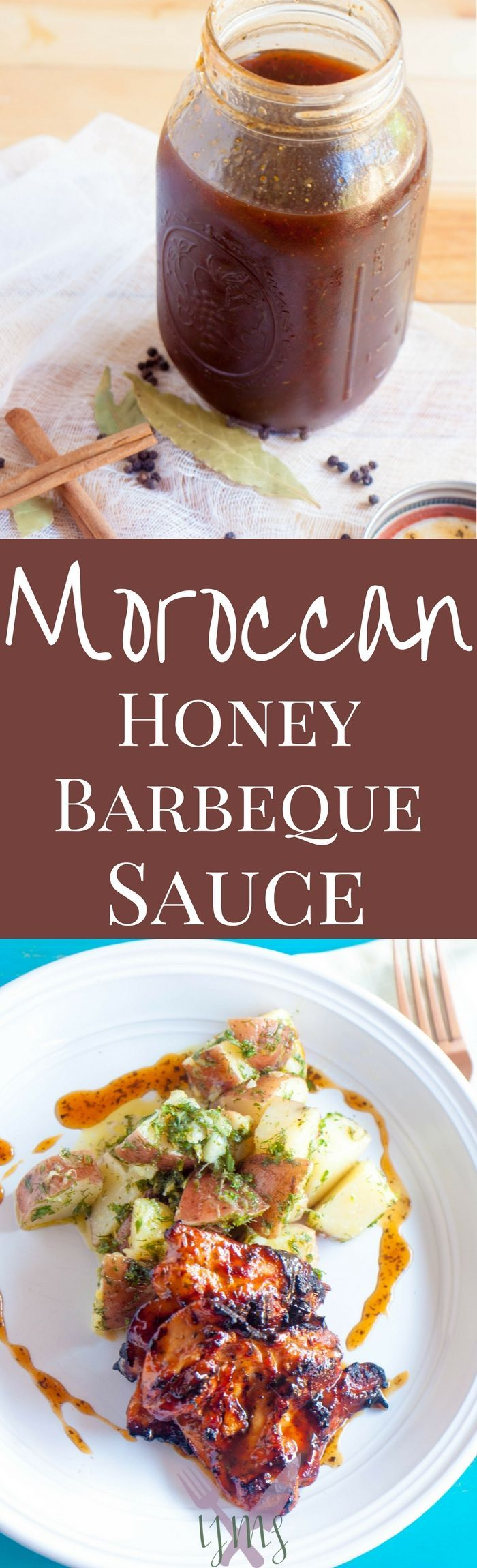 Your next BBQ will be all the rage if you smother chicken, ribs, or salmon with this Moroccan Honey Barbeque Sauce. Get ready to hand out this recipe!