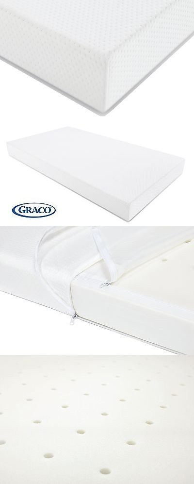 Baby Nursery: Graco Premium Foam Crib And Toddler Bed Mattress Standard And Full Sized -> BUY IT NOW ONLY: $41.52 on eBay!