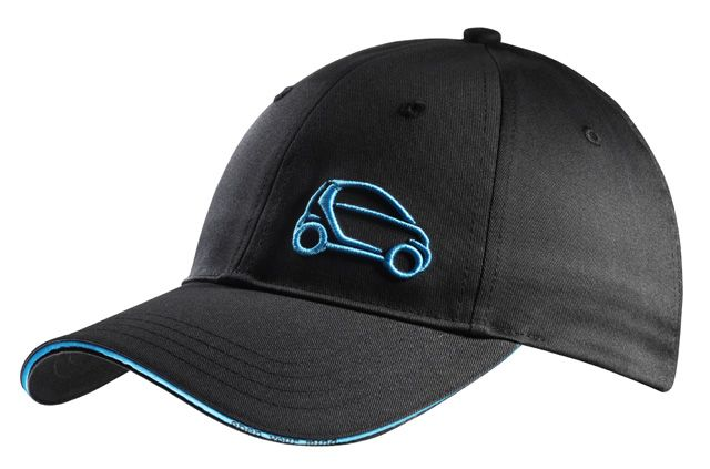 """Cap, Men black / turquoise B67993502 Baseball cap for men, grey, cotton, adjustable, with smart pictogram embroidered in turquoise on the front,  """"open your mind."""" printed in turquoise on the peak and strap, matt silver-coloured fastener with embossed ring logo."""