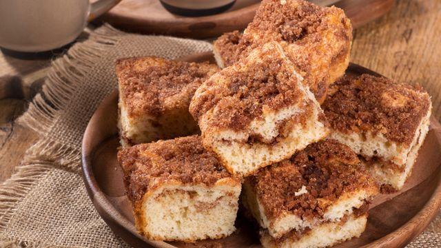 لبن زبادي من حليب البودرة في المنزل بقوام سميك بثلاث مكونات فقط طبق اليوم بالصور Coffee Cake Coffee Cake Recipes Vegan Coffee Cakes