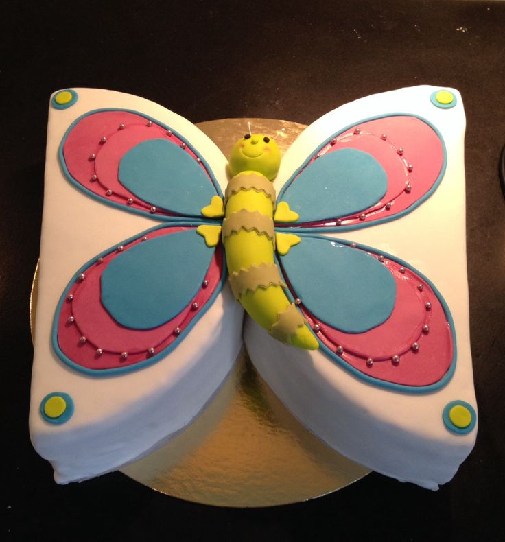Vlinder taart, juni 2014