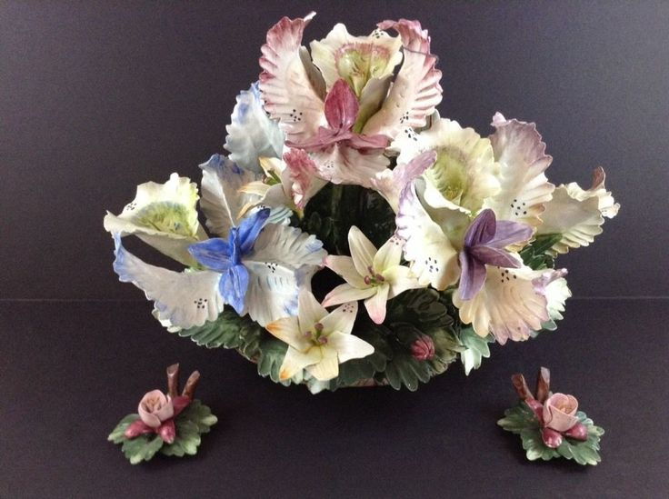 Best porcelain flowers images on pinterest ceramic