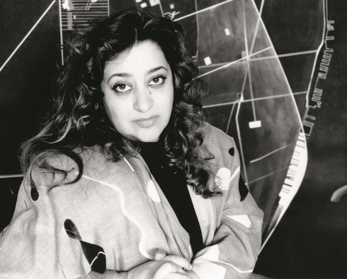 Great architect and designer Zaha Hadid.
