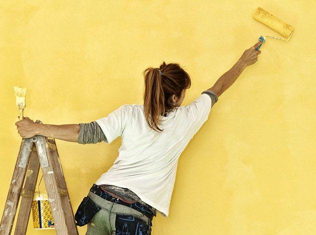 Come imbiancare casa da sole - Fai da te   Donna Moderna