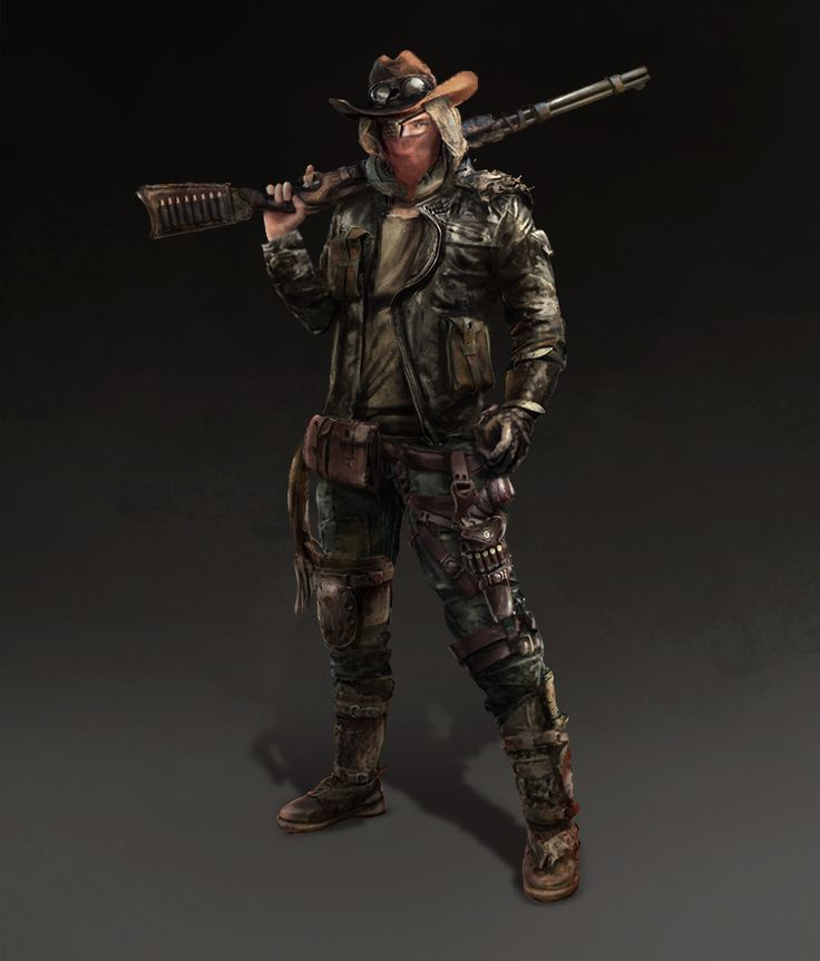 ArtStation - cowboy_warrior, Giao Nguyen