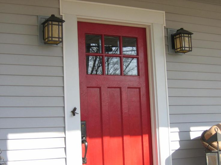 31 best Front Door images on Pinterest | Front door colors, Red ...