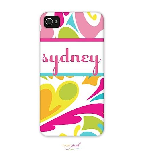 Modern Posh - phone | 4/4S | Tropical iPhone Case 2D (Modern Posh) | The PrintsWell Store