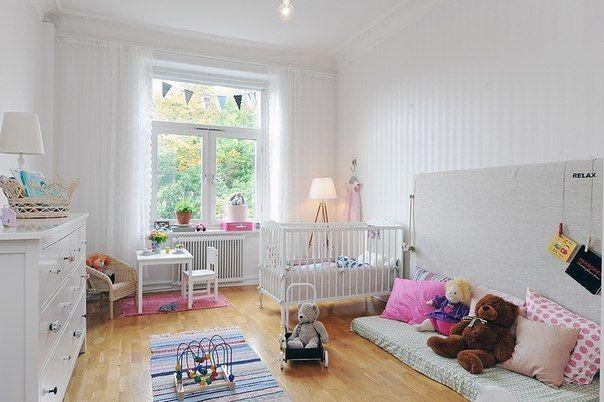 Детские комнаты в скандинавском стиле – 336 фотографий
