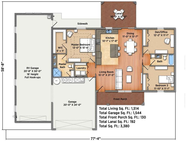 11 best rv garage apartments images on pinterest rv for Rv port designs
