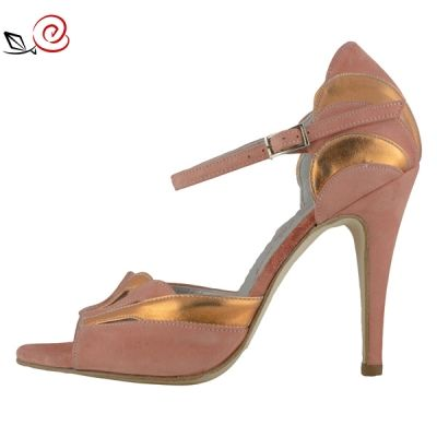 Special Occasion! 110,50 instead of 130€! Tango shoes for women in alternate colors with inlaid front