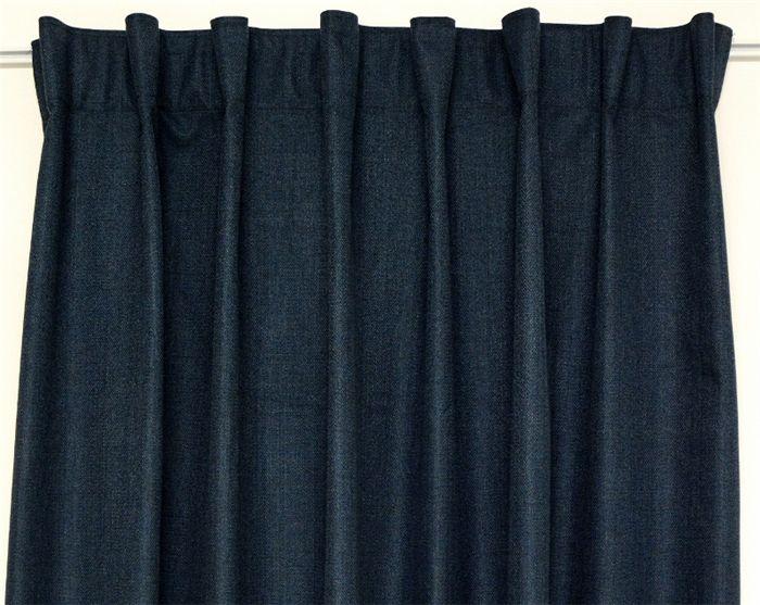 Ohlssons Tyger, Mörkläggande Maison mörkläggande veckbands-längd, 300cm. Sovrum? Vardagsrum/kök?