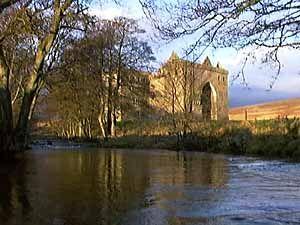Hermitage Castle - near Newcastleton, Roxburghshire, Scotland.