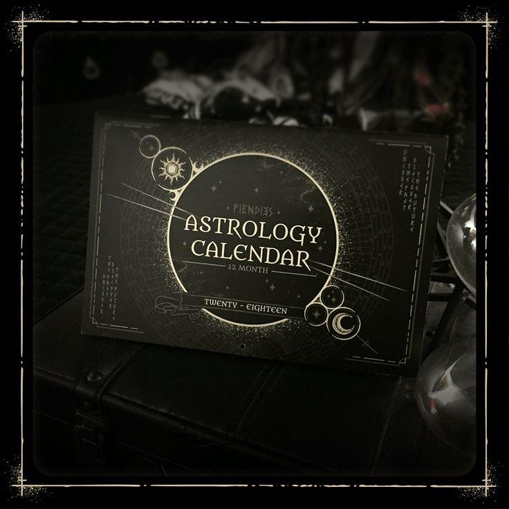 2018 Astrology Calendar