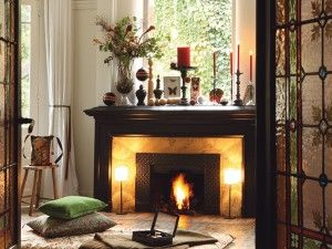 Decorating Fireplace Hearth Interesting Enchanting How To