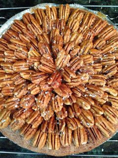 Life and Style West of the Ashley: Salted Caramel Chocolate Pecan Pie