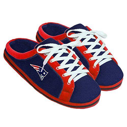 NFL New England Patriots Unisex Sneaker Slide Slipper Small * Visit the image link more details.