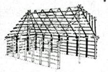 Costruzioni rurali in Toscana di Giovanni Caselli In contrasto con la capanna cilindro-conica troviamo, nella Toscana settentrionale e centrale, come in Romagna e in Emilia, la capanna a pianta qua…