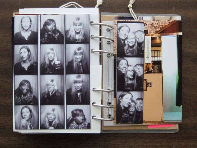 Journal would work great with instax