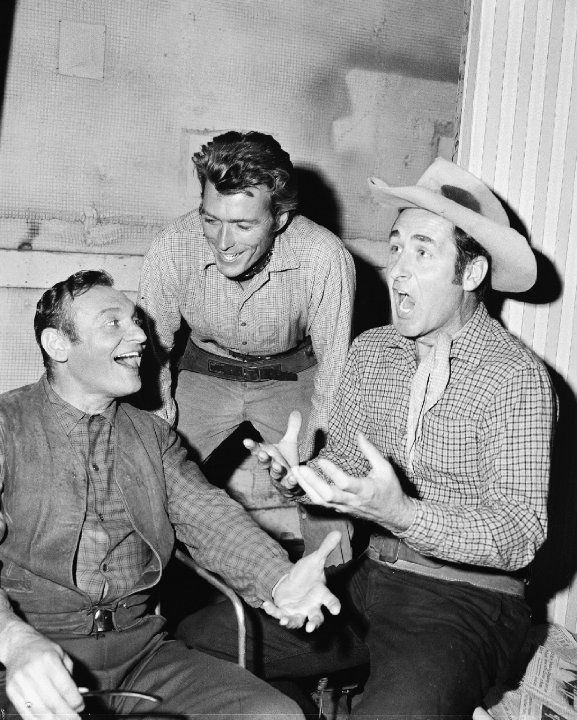 Rawhide TV Series | ... of Clint Eastwood, Frankie Laine and Sheb Wooley in Rawhide (1959