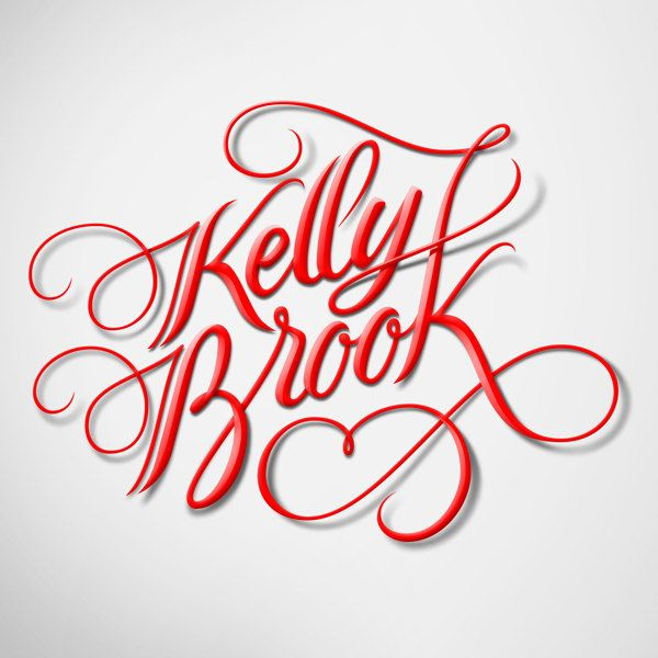 Wow, love this!!!! -   Kelly Brook by Jackson Alves, via Behance