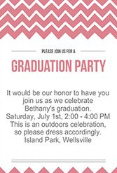 free grad party invitation templates